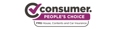 Most satisfied customers Canstar 2020 awards for car insurance and house and contents. 2019-2020 Consumer People's Choice award for FMG House, Contents and Car insurance
